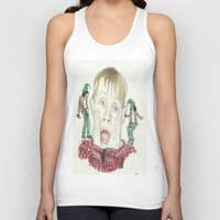home alone Tank Tops featuring Home Alone by Jillian Doherty