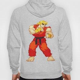 Ken Masters Pixel Art Hoody