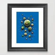Emoticontagious Framed Art Print