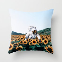 discovering you, discovering me. Throw Pillow