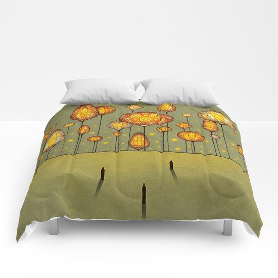 Retro City Comforters