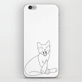 Time Fur a Cat Nap iPhone Skin