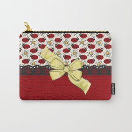 Ladybug Glow Carry-All Pouch