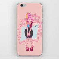 monster high iPhone & iPod Skins featuring Gigi Grant from Monster High by Veronica von Woo