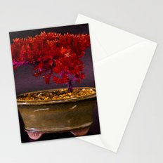 Red Bonsai Stationery Cards