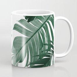 Tropical Banana Leaves Pattern #3 #tropical #decor #art #society6 Coffee Mug