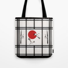 Shoji - flying cranes Tote Bag