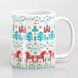 Scadinavian Fairytale Bright Coffee Mug