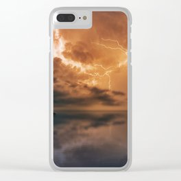 Eye Of The Needle Clear iPhone Case