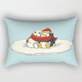 Penguin snowfriends Rectangular Pillow