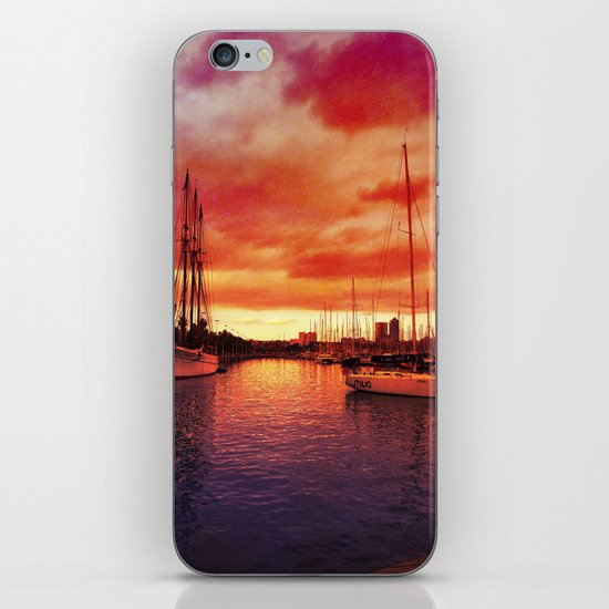 Spanish Marina II iPhone & iPod Skin