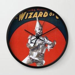 The Tin Man Wall Clock