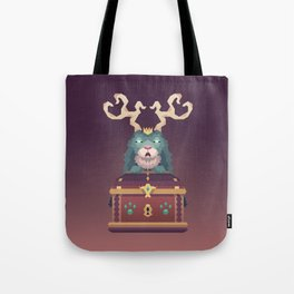 The Jackalope King's Chest Tote Bag