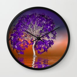 evening time somewhere -2- Wall Clock