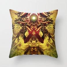 Spinal Tyrant mkii Throw Pillow