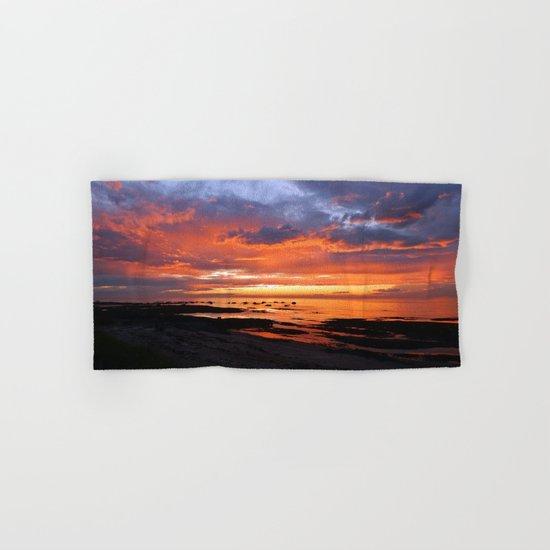 Stunning Seaside Sunset Hand & Bath Towel