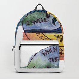 Isaiah 43:2 Backpack