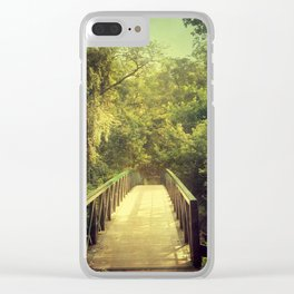 The Journey Starts With a Single Step Clear iPhone Case