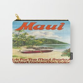 Vintage poster - Maui Carry-All Pouch