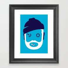 Zissou ... Framed Art Print