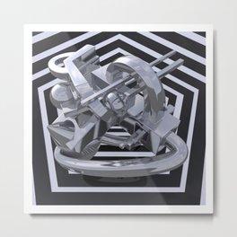 Hexagonal Discourse  Metal Print