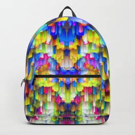 Colorful digital art splashing G395 Backpack