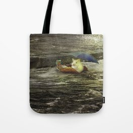 Froggie went a courting Tote Bag