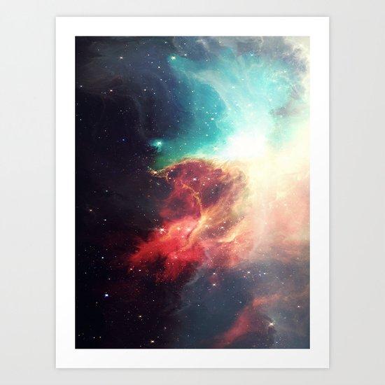 First Stop: Universe Art Print