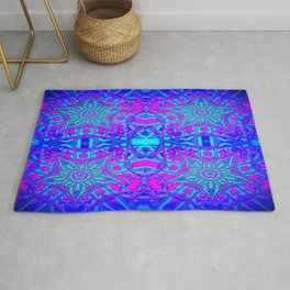 Bright Cool Stars Rug