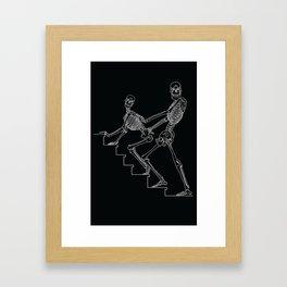 Skeleton Sex #1 Framed Art Print