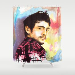 James Franco Shower Curtain