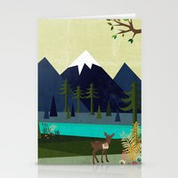 cartoons Stationery Cards featuring March by Kakel