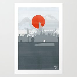 Avatar - Air Book Art Print