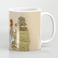 karen Mugs featuring Adventure in the Great Wide Somewhere by Karen Hallion Illustrations