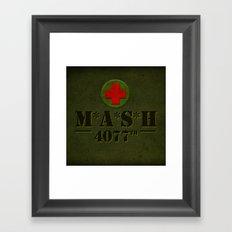 M*A*S*H Framed Art Print