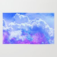 heaven Area & Throw Rugs featuring Heaven by Cale potts Art
