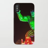 hulk iPhone & iPod Cases featuring Hulk by Roser Arques