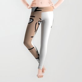 Saitama One Punch Man Leggings