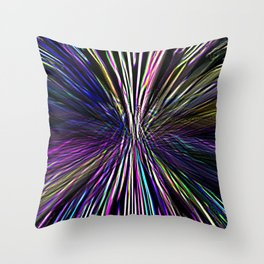 Re-Created  Supernova I by Robert S. Lee Throw Pillow