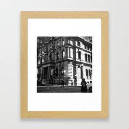 vieux port de montréal Framed Art Print