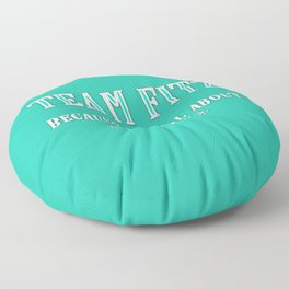 Team Fitz Floor Pillow
