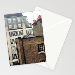 London Rooftops Stationery Cards