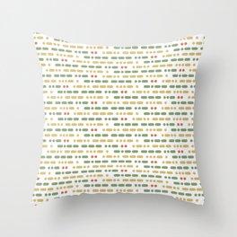 I Love You Morse Code II Throw Pillow