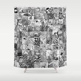 Doodling Together #5 Shower Curtain