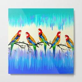 Australian Birds Metal Print