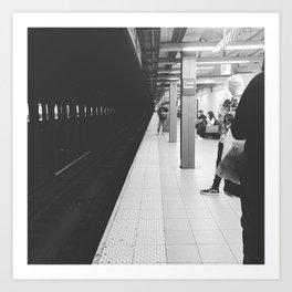 Canal Street Subway Art Print