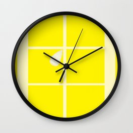 Rectangle lemon Wall Clock