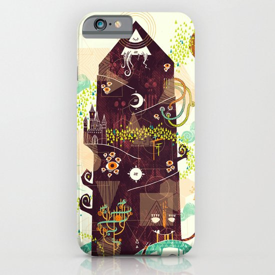 The Ominous and Ghastly Mont Noir iPhone & iPod Case