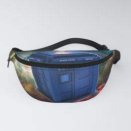 The Police Box Tardis time travel device used Doctor Who Fanny Pack