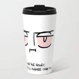 Stoned Levi Print Travel Mug